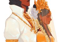 Βασιλιάs και βασίλισσα