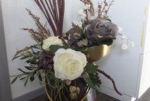 De Bloemendeel, kunst en foam bloemen
