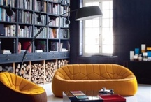 Industrial Decor: Library Ideas / The best home library inspirations for your industrial home interior design | Be inspired www.vintageindustrialstyle.com #interiordesignideas #modernhomedecor #industrialdecor