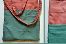torby DIY / handmade bags / Do toreb, które robię użyte są materiały z second-handów/ To my bags I use materials from second-hand shops.