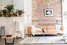 paredes, formas, colores y texturas