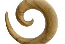 Ecarteur, plug, tunnel / Une belle collection de bijoux ethniques pour les amateurs de lobes stretchés !  Stretching style !