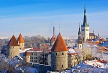 Estonia / There're a lot of amazing places in Estonia that you'll discover about over this board.