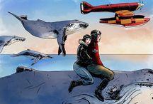 Enea Pilo e le Balene Volanti / Adventure book