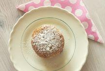 Mjuka bakverk/ desserts / Söta bakverk