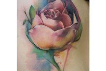 Flotte farver til en tattoo