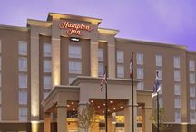 Hampton Inn by Hilton North Bay, Ontario, Canada / Vrancor-built, award-winning hotel that caters to corporate and leisure markets, relying on true northern hospitality. Centrally located in beautiful North Bay, among the city's top restaurants, shopping, leisure and sporting facilities.