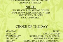 To do list / Cleaning