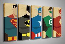 pintura e desenhos #superherois
