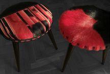 Mobiliario Biancca Leather Design / Muebles tapizados con piel con pelo