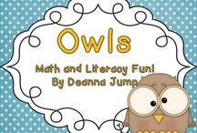 Kindergarten - Owls / by Lahna Tran