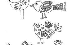 Kreslíme ptáčky