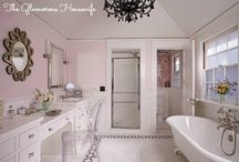 Bathroom Bliss / Vintage-inspired bathrooms