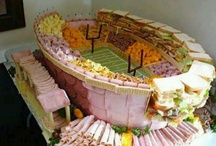 Snack Stadiums / the best display for your Super Bowl party - one you can eat!