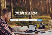 Design: Hero Sliders / Cool Typography on The Web