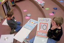 Math:  Centers and Games / by B. Barrett