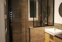 Deco salle de bain bois