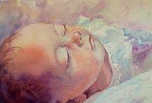 Kids in art: watercolour / Children in art. Watercolour