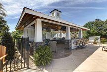 "Outdoor Kitchen / Distinctive Outdoor Kitchen ""Cabana"". More info: http://www.newviewphotosnc.com/360vt/b2b/construction/distinctive/cabana/tour.html"