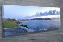 Panoramic Art / Our popular range of Panoramic canvas prints are great for any office or home space. Available in a wide variety of styles from soothing waterfalls to amazing waves.