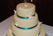 Teal & Silver Wedding Theme / visit www.facebook.com/weddingfinds to find supplier details