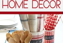 Memorial Day/4th of July Home Decor & Ideas