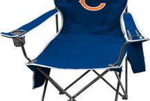 NFL Folding Chairs - Tailgate Chairs / Fans love these folding arm chairs. Display your team while watching your kids play sports or at the next tailgate party.