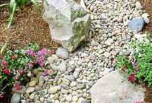 Rock uses yard