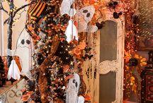 halloween set design