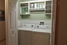 Laundry and pantry closet