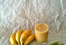 Healthy smoothy ideas / Immune boosting, detox, digestive supporting