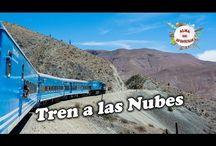 Tren a las Nubes / Primera parte de nuestro viaje en el Tren a las Nubes, el más asombroso del mundo, llega a una altura sobre el nivel del mar de 4200 metros en un recorrido de 217 km hasta el Viaducto de la Polvorilla. Es uno de los tres ferrocarriles de mayor altura en el mundo, ascendiendo sobre las vertiginosas montañas de la Cordillera de los Andes.  Nuestra experiencia fue realmente increíble y queremos compartirla con ustedes en esta serie de vídeos en nuestro canal Alma de Aventuras.