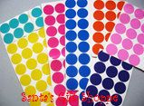 "1"" Vinyl Decal Dots"