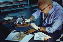 Montblanc Tattoo Artwork / Through the virtuosity of tattoo art, Montblanc gives an unexpected edge to the classical elegance as well as offering the opportunity to carry a piece of art all along the way as a precious daily companion.