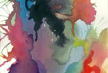 effets couleurs eau