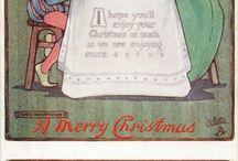 Christmas Fonts, Postcards, Prints