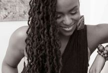 Locs / Women's Dreadloc styles for Natural Black Hair