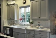 Kitchen / new house inspirations for kitchen / by Rachael Ballard