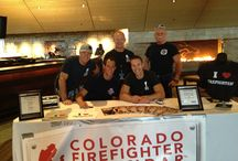 "The Colorado Firefighter Calendar / The Colorado Firefighter Calendar is a Charity Partner of the Race - sales of the calendar go to the Children's Hospital Burn Unit and send kids to a special ""burn camp"" in the Rockies. Look for them at Mile 11 of the Half Marathon race course - and send in your favorite photo with them! They're also at the Health & Fitness Expo!"