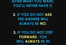 quotes / by Morgan Adolph