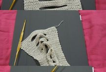 Crochet cable scarve