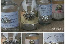 barattoli e bottiglie
