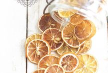 dried fruits decorations