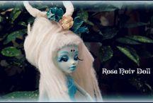 ♠ Fairy Whitesky ♠. / MH Custom  Repaint e Reroot: