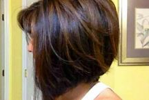 A-Line bobs with layers