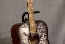 my works - guitar / Egy 1993-as születésű akusztikus gitár új élete