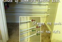 Shoes, Shoes, Shoes / Shoe Organization - Tips, Tricks & Solutions for Shoes
