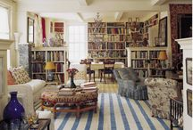 Living in a Library / Surrounded by books