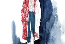 Mode-Illustrationen