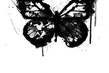 Tetování Motýl